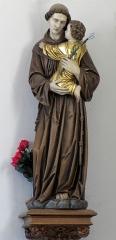 Cimetière - Français:   Alsace, Bas-Rhin, Marmoutier, Chapelle de cimetière Saint-Denis (PA00084785, IA67007725). Statue St-Antoine de Padoue.