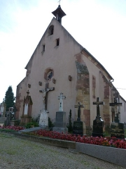 Cimetière - This building is indexed in the Base Mérimée, a database of architectural heritage maintained by the French Ministry of Culture,under the reference PA00084785 .