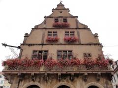 Grandes Boucheries - Français:   Alsace, Bas-Rhin, Molsheim, Ancien siège de corporation des bouchers dit Metzig (1607), place de l\'Hôtel-de-Ville (PA00084794, IA67006169).