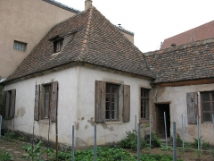 Ancienne chartreuse - English: Carthusian monastry cell in Molsheim