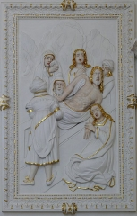 Ancienne église des Jésuites, ou église catholique Saint-Georges - Français:   Alsace, Bas-Rhin, Église Saint-Georges de Molsheim, ancienne église des Jésuites (1618) (PA00084798, IA67006097). Transept sud.  Décor stuqué (Jean KUHN et Michael CASTELO, XVIIe):       This object is indexed in the base Palissy, database of the French furniture patrimony of the French ministry of culture,under the referenceIM67009651. беларуская (тарашкевіца)| brezhoneg| català| Deutsch| English| español| suomi| français| magyar| italiano| македонски| Plattdüütsch| português| українська| +/−