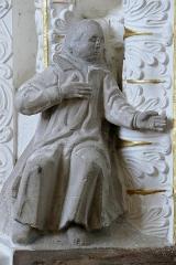 Ancienne église des Jésuites, ou église catholique Saint-Georges - Alsace, Bas-Rhin, Église Saint-Georges de Molsheim, ancienne église des Jésuites (1618) (PA00084798, IA67006097). Hauts-reliefs