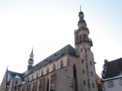 Ancienne église des Jésuites, ou église catholique Saint-Georges - Français:   Alsace, Bas-Rhin, Église Saint-Georges de Molsheim, ancienne église des Jésuites (1618) (PA00084798, IA67006097).