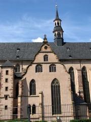 Ancienne église des Jésuites, ou église catholique Saint-Georges - Français:   Alsace, Bas-Rhin, Église Saint-Georges de Molsheim, ancienne église des Jésuites (1618) (PA00084798, IA67006097). Pignon du transept.