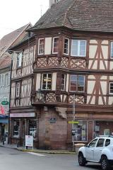 Maison - Français:   Maison au 14 Rue de Saverne, Molsheim, Alsace