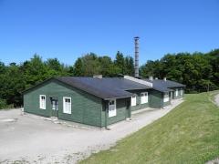 Ancien camp concentrationnaire de Natzweiler-Struthof, actuellement musée des Déportés - Salles d'expérimentation du camp de Natzweiler-Struthof à Natzwiller (Bas-Rhin, France).