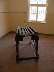 Ancien camp concentrationnaire de Natzweiler-Struthof, actuellement musée des Déportés - Intérieur du bloc cellulaire au camp de Natzweiler-Struthof à Natzwiller (Bas-Rhin, France).