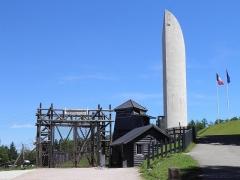 Ancien camp concentrationnaire de Natzweiler-Struthof, actuellement musée des Déportés - Camp de Natzweiler-Struthof et mémorial aux martyrs et héros de la déportation à Natzwiller (Bas-Rhin, France).