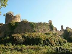 Ruines du château du Frankenbourg - Français:   Château du Frankenbourg (714 m) à Neubois (Bas-Rhin, France).