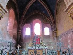 Ancienne abbaye bénédictine -  Alsace, Bas-Rhin, Neuwiller-lès-Saverne, Église abbatiale Saints-Pierre et Paul (PA00084820, IA67009917: Chapelle du croisillon nord.