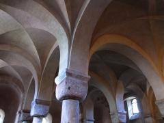 Ancienne abbaye bénédictine -  Alsace, Bas-Rhin, Neuwiller-lès-Saverne, Église abbatiale Saints-Pierre et Paul (PA00084820, IA67009917: Chapelle Sainte-Catherine, chapelle inférieure du chevet (XIe).