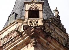 Beffroi et chapelle dits Kappelturn -  Alsace, Bas-Rhin, Obernai, Ancienne chapelle Notre-Dame (XIIe-XVe-XVIe), dite
