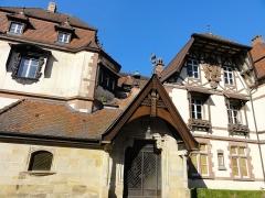 Domaine de la Léonardsau - Français:   Alsace, Bas-Rhin, Obernai et Boersch, Domaine de la Leonardsau (1899-1921) (PA00084847, IA00024016).