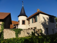 Domaine de la Léonardsau - Français:   Alsace, Bas-Rhin, Obernai et Boersch, Domaine de la Leonardsau (1899-1921) (PA00084847, IA00024016): Dépendances.