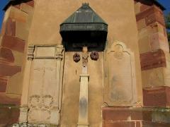 Cimetière -  Alsace, Bas-Rhin, Obernai, Cimetière, Chapelle funéraire (PA00084848, IA00023930).