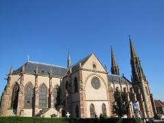 Eglise paroissiale Saint-Pierre-et-Paul -  Alsace, Bas-Rhin, Obernai, Église Saints-Pierre-et-Paul (PA00084850, IA00023930).