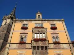Hôtel de ville -  Alsace, Bas-Rhin, Obernai, Ancienne chapelle Notre-Dame (XIIIe-XVe-XVIe), dite