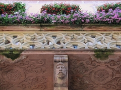 Hôtel de ville -  Alsace, Bas-Rhin, Obernai, Hôtel de ville (XVe-XVIe-XVIIe-XIXe) (PA00084853, IA00023940).