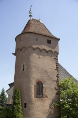 Vieux remparts - This building is indexed in the Base Mérimée, a database of architectural heritage maintained by the French Ministry of Culture,under the reference PA00084867 .