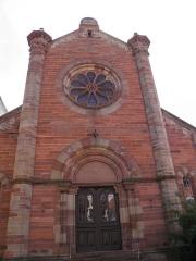 Ancienne synagogue - Synagogue à Obernai (Bas-Rhin, France).