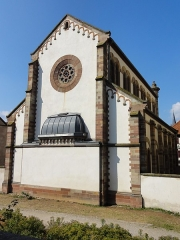 Ancienne synagogue - This building is inscrit au titre des Monuments Historiques. It is indexed in the Base Mérimée, a database of architectural heritage maintained by the French Ministry of Culture,under the references PA00084868   and IA00023938 .