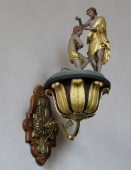 Eglise catholique Saint-Maurice - This object is indexed in the base Palissy, database of the French furniture patrimony of the French ministry of culture, under the reference IM67006755.