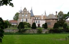 Château -  Alsace, Bas-Rhin, Osthoffen, Château (XVIe-XIXe) (PA00084877, IA67005654).