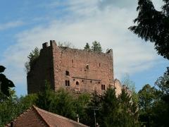 Ruines du château de Rathsamhausen - Français:   Château de Rathsamhausen