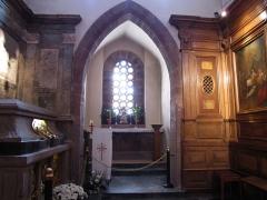 Monastère de Sainte-Odile, au Mont-Saint-Odile -  Alsace, Bas-Rhin, Ottrott, Couvent du Mont Sainte-Odile (PA00084884, IA00075612): Chapelle Sainte-Odile.