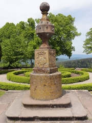 Monastère de Sainte-Odile, au Mont-Saint-Odile - This object is indexed in the base Palissy, database of the French furniture patrimony of the French ministry of culture,under the referenceIM67001124.