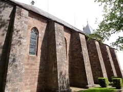 Monastère de Sainte-Odile, au Mont-Saint-Odile -  Alsace, Bas-Rhin, Ottrott, Basilique du Mont Sainte-Odile (PA00084884, IA00075612).