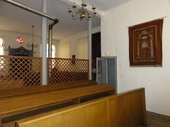 Synagogue -  Alsace, Bas-Rhin, Pfaffenhoffen, Synagogue (1791): (PA00084894, IA67010135): Meritza en lattis séparant les espaces hommes et femmes.