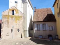 Synagogue -  Alsace, Bas-Rhin, Pfaffenhoffen, Synagogue (1791): (PA00084894, IA67010135).