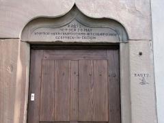 Chapelle Sainte-Marie-du-Chêne ou Notre-Dame-du-Chêne -  Alsace, Bas-Rhin, Plobsheim, Chapelle Notre-Dame du Chêne, Appartement du Waldbruder (1812): (PA00084895, IA00023121).