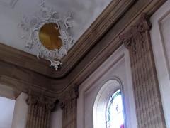 Eglise catholique Saint-Michel -  Alsace, Bas-Rhin, Reichshoffen, Église Saint-Michel (PA00084898, IA00123481): Stucs et colonnes néo-classiques.