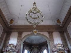Eglise catholique Saint-Michel -  Alsace, Bas-Rhin, Reichshoffen, Église Saint-Michel (PA00084898, IA00123481): Voûte et colonnes néo-classiques.