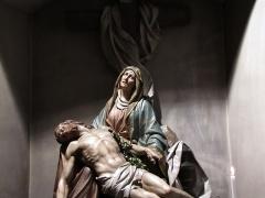 Eglise catholique Saint-Michel -  Alsace, Bas-Rhin, Reichshoffen, Église Saint-Michel (PA00084898, IA00123481): Pieta (XIXe).