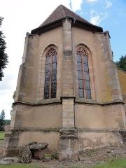 Eglise mixte Saint-Jacques-le-Majeur - This building is classé au titre des monuments historiques de la France. It is indexed in the base Mérimée, a database of architectural heritage maintained by the French Ministry of Culture,under the references PA00084900   and IA67006478 .