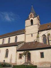 Eglise catholique de l'Assomption-de-la-Vierge -  Alsace, Bas-Rhin, Rosenwiller, Église Notre-Dame de l'Assomption (PA00084907, IA00075624).