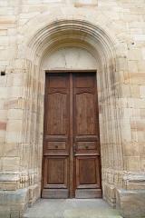 Eglise Saint-Pierre-et-Paul -  Alsace, Bas-Rhin, Rosheim, Église romane Saints-Pierre-et-Paul (XIIe) (PA00084909, IA00075638): Portail occidental.