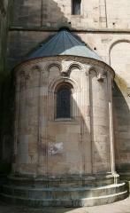 Eglise Saint-Pierre-et-Paul -  Alsace, Bas-Rhin, Rosheim, Église romane Saints-Pierre-et-Paul (XIIe) (PA00084909, IA00075638): Abside nord-est.