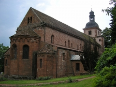 Ancienne église abbatiale -  Eglise-abbatiale St Jean Baptiste (St Jean Saverne) (Bas Rhin)