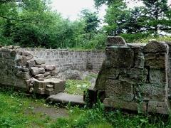 Chapelle Saint-Jacques - Français:   Ruines de l\'ermitage Saint-Jacques de Niedermunster, classées monuments historiques en 1846