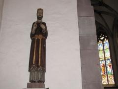 Eglise collégiale Saint-Blaise -  Alsace, Bas-Rhin, Sarrewerden, Église Saint-Barthélemy (ancienne Collégiale Saint-Blaise) (PA00084945, IA67005982).