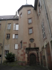 Petit Château - Château d'Oberhof à Saverne (Bas-Rhin, France).