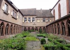 Ancien couvent des Récollets et église Saint-Antoine-de-Padoue - Français:   Alsace, Bas-Rhin, Saverne, Cloître de l\'Ancien Couvent des Récollets (PA00084955, IA00055457).