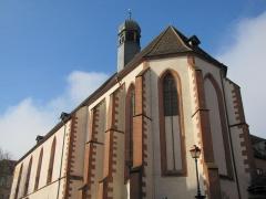 Ancien couvent des Récollets et église Saint-Antoine-de-Padoue -  Alsace, Bas-Rhin, Saverne, Église Saint-Antoine de Padoue (PA00084955, IA00055457).