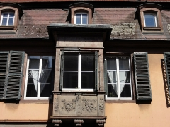 Maison - This building is inscrit au titre des monuments historiques de la France. It is indexed in the base Mérimée, a database of architectural heritage maintained by the French Ministry of Culture,under the references PA00084961   and IA00055433 .