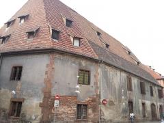 Ancien arsenal Saint-Hilaire - Français:   Arsenal Saint-Hilaire, 2a rue des Chevaliers (Inscrit, 1984)