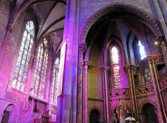 Ancienne cathédrale ou église Saint-Georges -  Alsace, Bas-Rhin, Sélestat, Église Saint-Georges (PA00084978, IA00124588): Chœur et chapelle